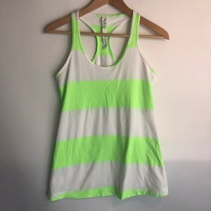 Lululemon Cool Racerback 10 Zippy Stripe Tank Top